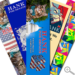 All Five Hank Bookmarks