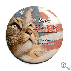 Vote Hank Campaign Button