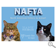 Hank and Stan NAFTA Poster