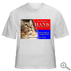 White Friends of Hank T-Shirt