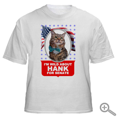 Wild About Hank T-Shirt